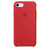 APPLE SILICONE COVER RED IPHONE 7,8,