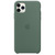 APPLE IPHONE 11 PRO MAX SILICONE CASE GREEN,