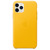 APPLE IPHONE 11 PRO LEATHER CASE MEYER LEMON