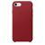 APPLE LEATHER COVER RED IPHONE 7,8,