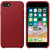 APPLE LEATHER COVER RED IPHONE 7,8