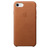 APPLE LEATHER COVER SADDLE BROWN IPHONE 7,8,