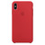 Apple-smartphonehoesje APPLE SILICONE CASE RED XS MAX