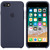 APPLE SILICONE COVER MIDNIGHT BLUE IPHONE 7,8