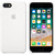 APPLE SILICONE COVER WHITE IPHONE 7,8V