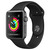 Smartwatch / Activity tracker APPLE WATCH SERIES 3 2017 GPS 38MM SPACE GRAY ALUMINUM CASE BLACK SPORT BAND