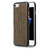 AZURI WOODEN COVER IPHONE 7 BLACK, Étui smartphone Apple