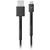 USB-kabel voor smartphone of tablet MICRO USB 1.5M STORM GREY