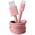 FRESH 'N REBEL USB-USB-C 1.5M DUSTY PINK