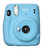 FUJIFILM INSTAX MINI 11 BLUE + CASE + FILMS X10 + STICKERS + LED LIGHTS