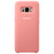 SAMSUNG SILICONE COVER PINK S8,