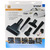 SCANPART UNIVERSAL CAR CLEAN SET, Borstel stofzuiger