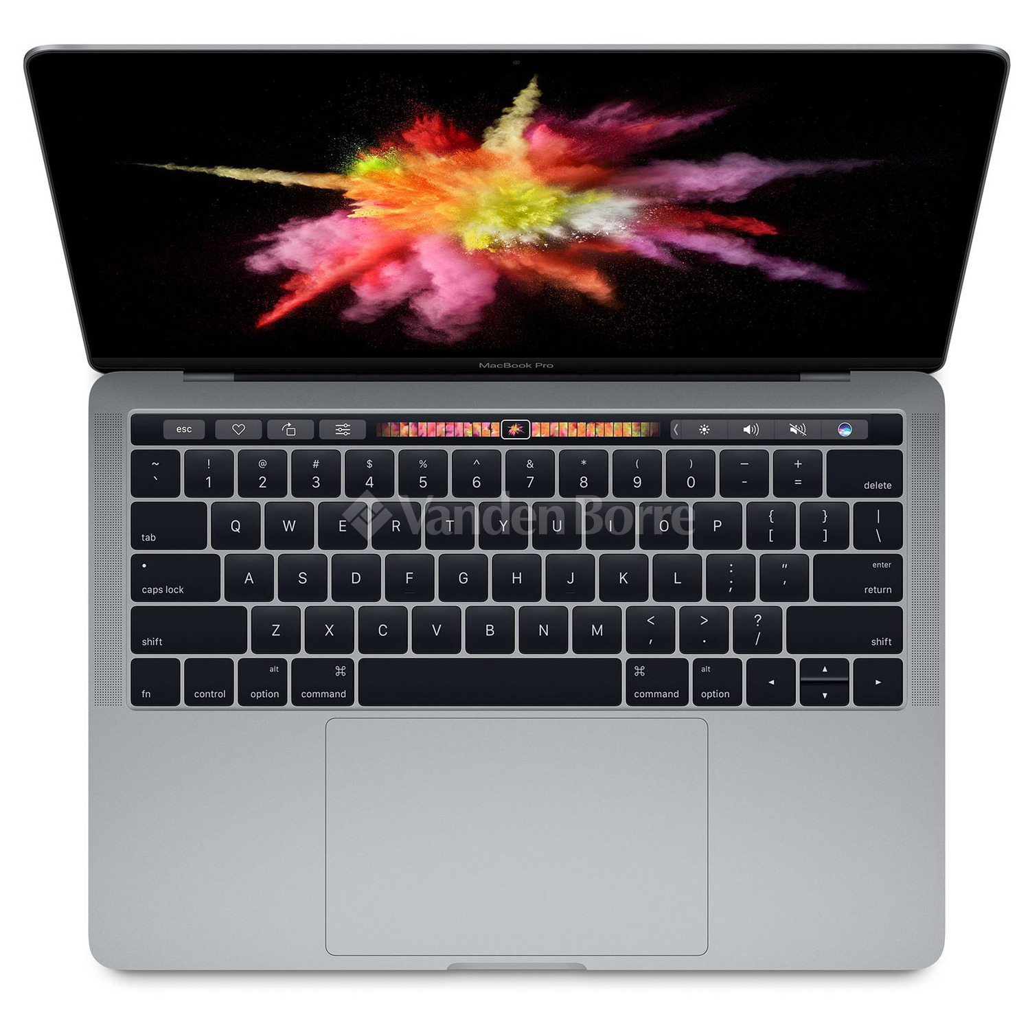 apple macbook pro 13 inch 2017 i5 512gb touchbar space grey mpxw2fn a chez vanden borre. Black Bedroom Furniture Sets. Home Design Ideas