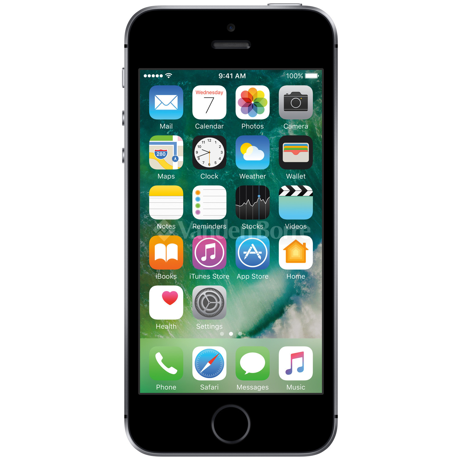 apple refurbished iphone 5s 16gb space grey bij vanden borre gemakkelijk vergelijken en aankopen. Black Bedroom Furniture Sets. Home Design Ideas