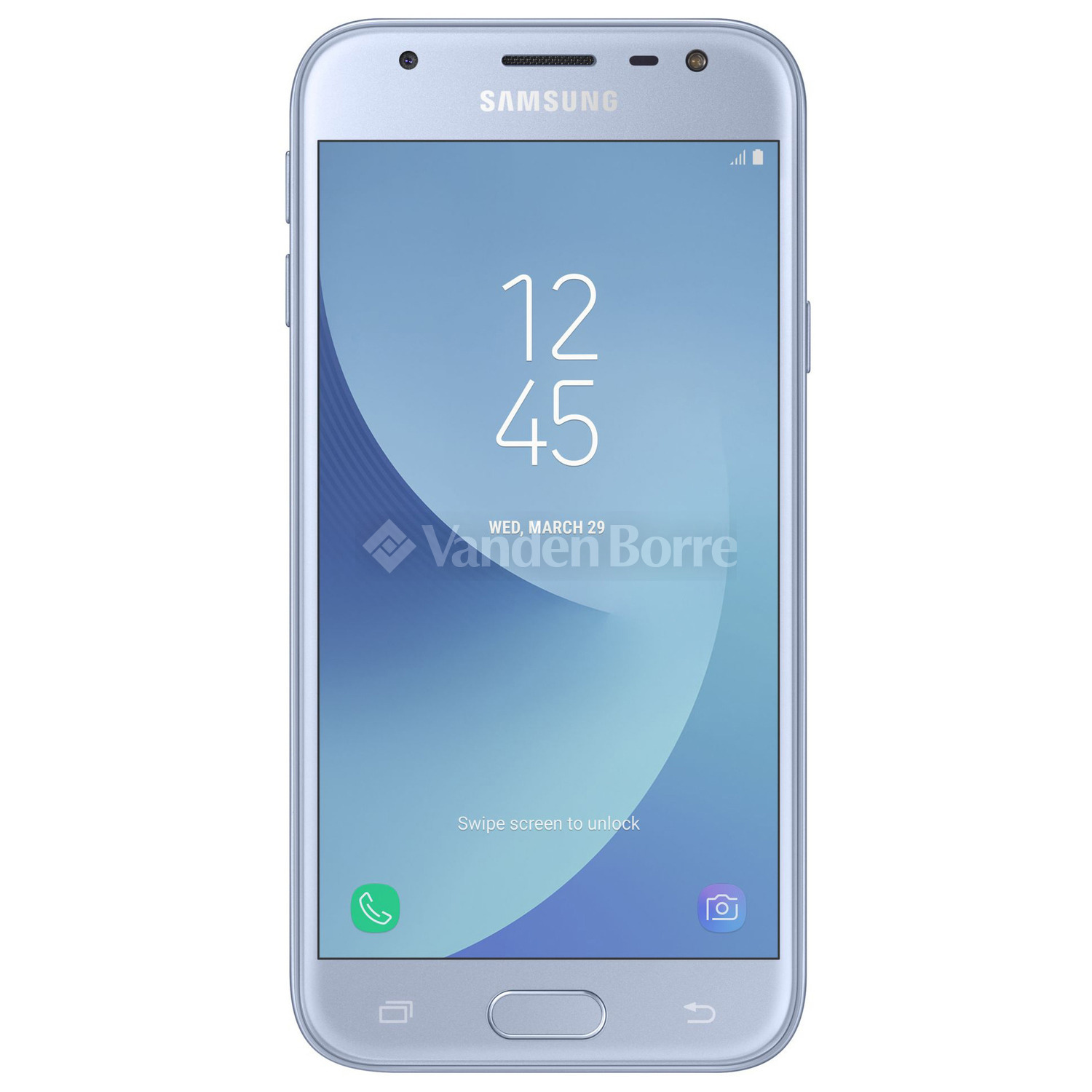 samsung galaxy j3 2017 silver blue chez vanden borre comparez et achetez facilement. Black Bedroom Furniture Sets. Home Design Ideas