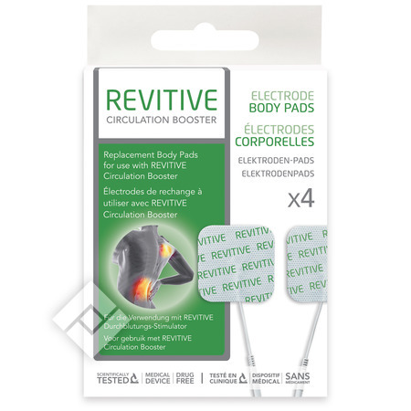 ACTEGY REVITIVE ELECTRODE X4
