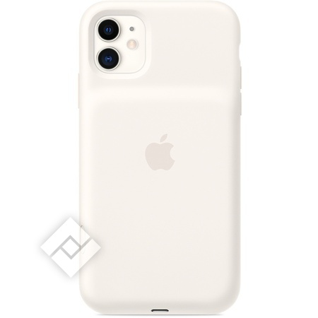 APPLE IPHONE 11 SMART BATTERY CASE WITH WIRELESS CHARGING WHITE