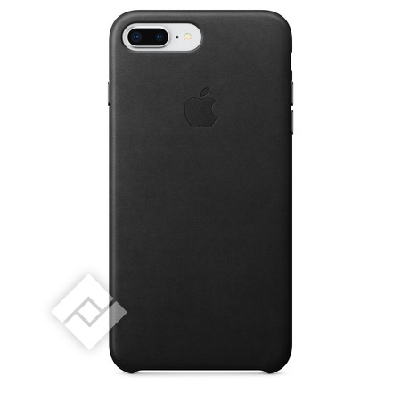 APPLE LEATHER COVER BLACK IPHONE 7 PLUS, 8 PLUS