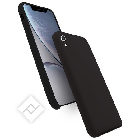 WAVE SILICONE COVER IPHONE XR BLACK