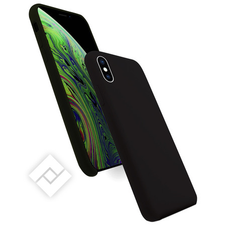 WAVE SILICONE COVER IPHONE XS MAX BLACK