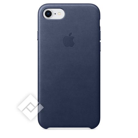 APPLE LEATHER COVER MIDNIGHT BLUE IPHONE 7,8