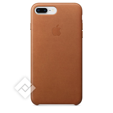 APPLE LEATHER COVER SADDLE BROWN IPHONE 7 PLUS, 8 PLUS