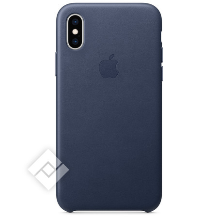 APPLE LEATHER CASE MID BLUE XS