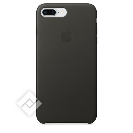 APPLE LEATHER COVER CHARCOAL GREY IPHONE 7 PLUS, 8 PLUS