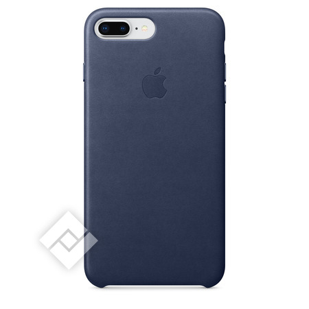 APPLE LEATHER COVER MIDNIGHT BLUE IPHONE 7 PLUS, 8 PLUS