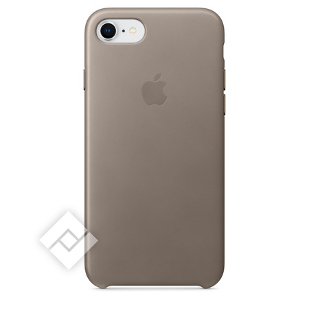 APPLE LEATHER COVER TAUPE IPHONE 7,8