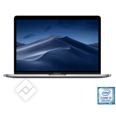 1ace5edfe82 APPLE MACBOOK PRO 13 INCH (2019) i5 256GB TOUCHBAR SPACE GREY MUHP2FN/A