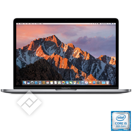 APPLE MACBOOK PRO 13 INCH (2018) I5 256GB TOUCHBAR SPACE GREY MR9Q2FN/A