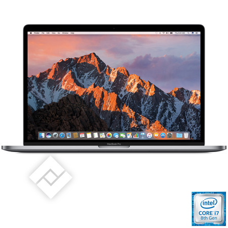 APPLE MACBOOK PRO 15 INCH (2018) I7 512GB TOUCHBAR SPACE GREY MR942FN/A