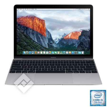 APPLE MACBOOK 12 INCH (2017) I5 512GB SPACE GREY MNYG2FN/A