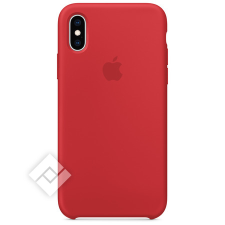 APPLE SILICONE CASE RED XS