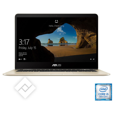 ASUS laptop, tablet pc of 2-in-1 / hybride UX461FA-E1045T-BE