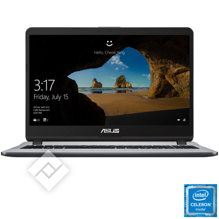 ASUS laptop, tablette PC ou hybride / convertible X507MA-EJ288T-BE