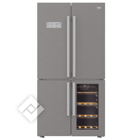 BEKO Amerikaanse frigo of French Doors koelkast GN 1416220CX