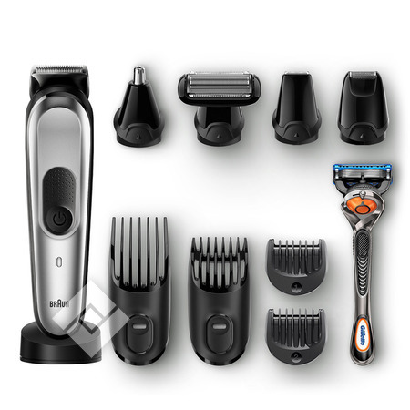 BRAUN Tondeuse à barbe, nez ou bodygroom MGK7020