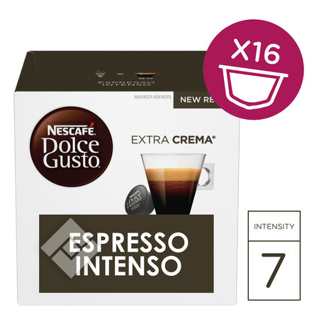 DOLCE GUSTO Capsules / pads ESPRESSO INTENSO 16x