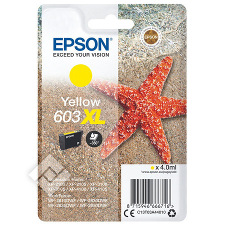EPSON 603XL YELLOW