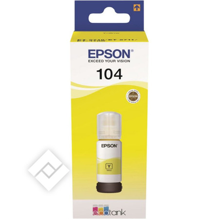EPSON ECOTANK 104 YELLOW