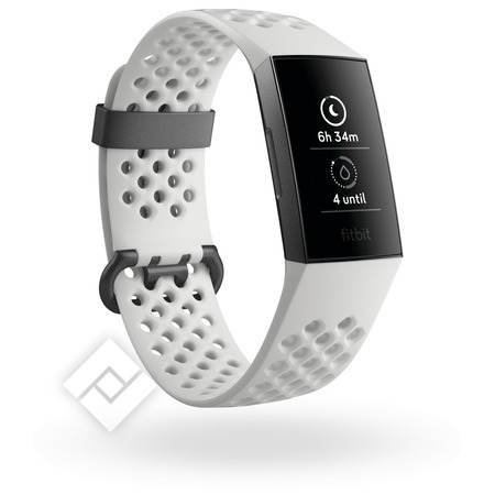 FITBIT Smartwatch, activity tracker of sporthorloge CHARGE3 SE FROST WH SPORT