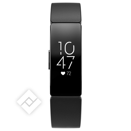 FITBIT Smartwatch, activity tracker of sporthorloge INSPIRE HR BLACK/BLACK