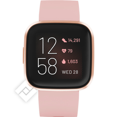 FITBIT Smartwatch, activity tracker of sporthorloge VERSA 2 COP ROS AL