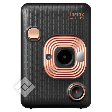 FUJIFILM INSTAX MINI LIPLAY BLACK