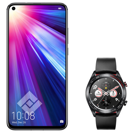 HONOR VIEW 20 128GB MIDNIGHT BLACK + HONOR WATCH MAGIC