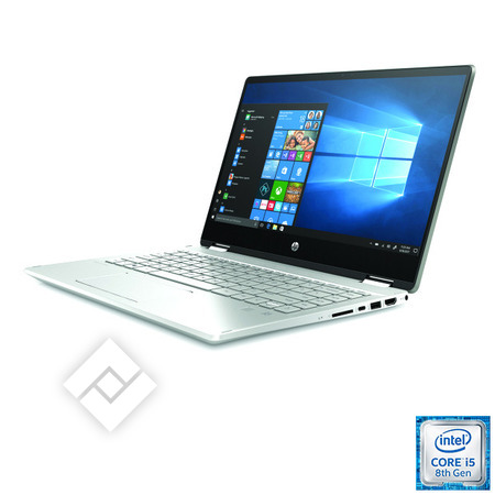 HP laptop, tablet pc of 2-in-1 / hybride PAVILION X360 14-DH0076NB