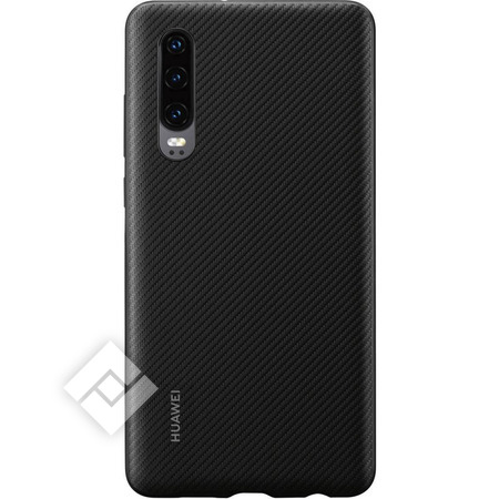 HUAWEI PU COVER BLACK CARBON P30