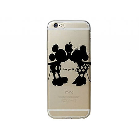 I12COVER Apple Iphone 7 Plus softcase hoesje met Mickey & Minnie Mouse